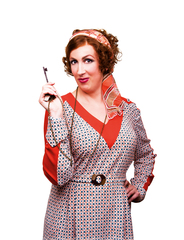 Miranda Hart stars in Annie by Matt Crockett