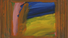 Howard Hodgkin: Absent Friends - Going for a Walk with Andrew by Howard Hodgkin, 1995-98 (c) Howard Hodgkin