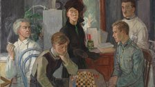 Tove Jansson - Tove Jansson, Family, 1942. Photo: Finnish National Gallery / Hannu Aaltonen