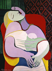 Picasso 1932: Love, Fame, Tragedy - Pablo Picasso Le Reve (The Dream) 1932 by Succession Picasso/DACS 2017