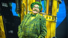 Rufus Hound as Mr Toad in The Wind in the Willows by Jamie Hendry Productions