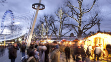 Winter at Southbank Centre