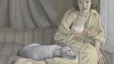 All Too Human: Bacon, Freud and a Century of Painting Life - Lucian Freud, 1922-2011, Girl with a White Dog, 1950-1 by Tate