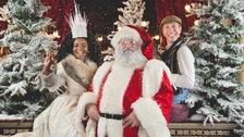 Father Christmas at the Royal Albert Hall