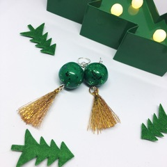 Drink, Shop & Do Christmas Market - Big Happy Designs Christmas earrings.