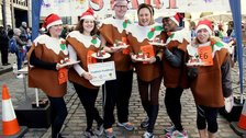 Great Christmas Pudding Race by Helena Marks