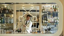 Head bartender at the American Bar at The Savoy, Erik Lorincz