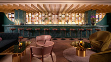 Dandelyan, award winning bar at the Mondrian