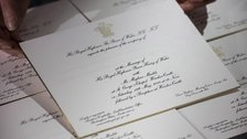 The Royal Wedding: Prince Harry and Meghan Markle - Royal Wedding invitations by Barnard & Westwood: Fine Printers & Bookbinders, London
