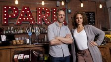 Trevor White & Angela Griffin star in Building The Wall at Park Theatre by Tomas Turpie
