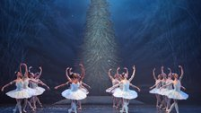 English National Ballet: Nutcracker - Snowflakes, English National Ballet, Nutcracker, photo © Laurent Liotardo