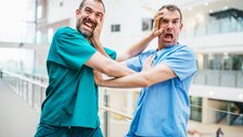 Operation Ouch! - Dr Xand and Dr Chris - Maverick Television photographer Jacob Niblett