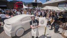 Art Car Boot Fair by Nick Cunard, Courtesy of Art Car Boot Fair