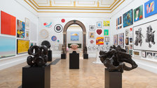 Royal Academy Summer Exhibition by David Parry
