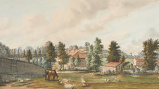 Secret Rivers - Fields at Bayswater, looking towards Craven Hill, 1793, Paul Sandby by Museum of London