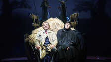 Young Frankenstein - Hadley Fraser as Dr. Frederick Frankenstein and Ross Noble as Igor by Manuel Harlan