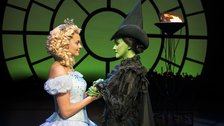 Best West End Shows in London for Kids - Sophie Evans (Glinda) and Alice Fearn (Elphaba)