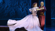 Ken Watanabe and Kelli O'Hara in The King & I by Paul Kolnik