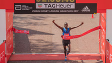 The Big Half - Daniel Wanjiru, 2017 Virgin Money London Marathon champion