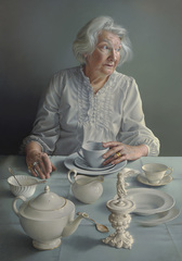 BP Portrait Award 2018 - An Angel At My Table by Miriam Escofet
