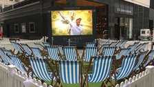 Wimbledon Screening at St James's Market