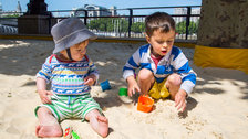 Southbank Centre Beach by Southbank Centre / Pete Woodhead
