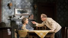 Zoe Wanamaker and Toby Jones in The Birthday Party by Johan Persson
