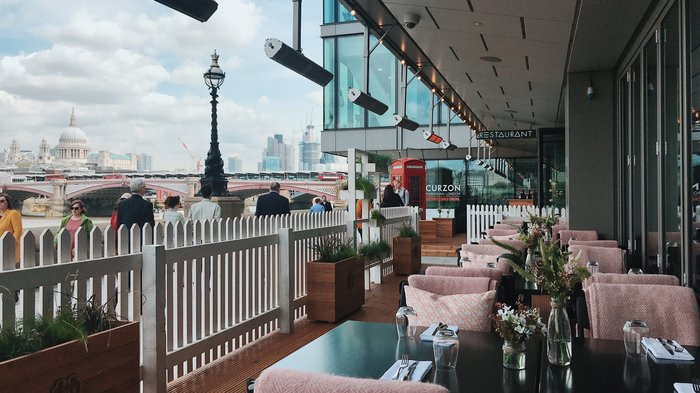 Midsummer Terrace at Mondrian London