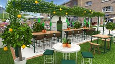 Tanqueray Garden at The Sipping Room