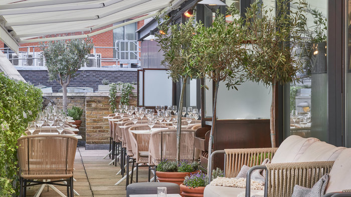 Orrery's Rooftop Terrace