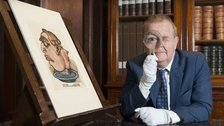 I Object: Ian Hislop's search for dissent - Ian Hislop in the British Museum's Prints and Drawings Study Room by Trustees of the British Museum