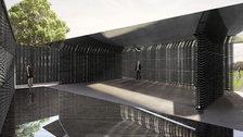 Serpentine Pavilion 2018 - Designed by Frida Escobedo, Taller de Arquitectura © Frida Escobedo, Taller de Arquitectura