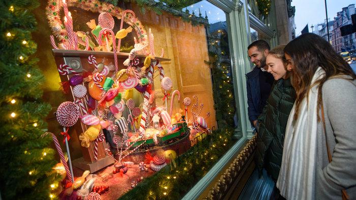 Fortnum & Mason's Christmas Windows