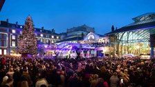 Christmas in Covent Garden by Brendan Bell