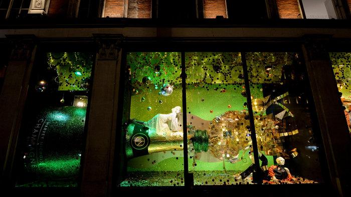 Harvey Nichols Christmas Windows