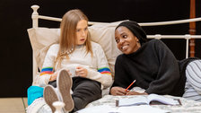 The Tell-Tale Heart - Imogen Doel, Tamara Lawrance in rehearsals for The Tell-Tale Heart. Photo: Manuel Harlan