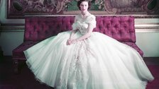 Christian Dior: Designer of Dreams - Princess Margaret on her 21st birthday by Victoria and Albert Museum, London