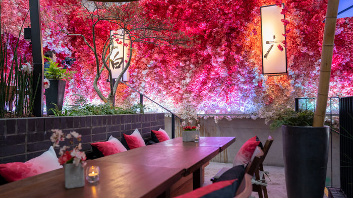 Hanami Terrace at Nobu Hotel London Shoreditch