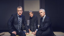 Art - Stephen Tompkinson, Nigel Havers & Denis Lawson by Matt Crockett