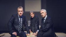 Art - Stephen Tompkinson, Nigel Havers & Denis Lawson by Matt Crockett