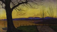 Harald Sohlberg: Painting Norway - Harald Sohlberg, Spring Evening, Akershus Fortress, 1913, Akershus Fortress.