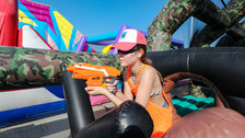 The Monster teams up with NERF for children and family days