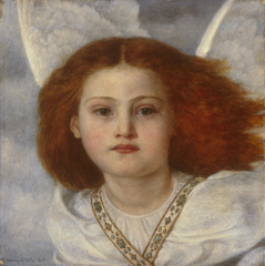 Pre-Raphaelite Sisters - Thou Bird of God by Joanna Boyce Wells, 1861, Private Collection
