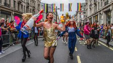 Pride in London Parade by Carlos Calika