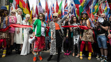 Pride in London Parade by James Gourley