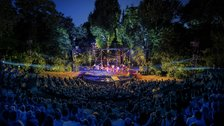 Evita is at Regent's Park Open Air Theatre by David Jensen
