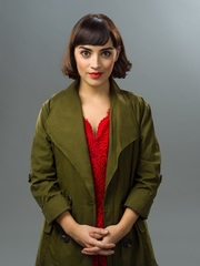 Audrey Brisson stars as Amelie in Amelie The Musical by Michael Wharley, 2019
