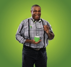Clive Rowe as Badger In The Willows