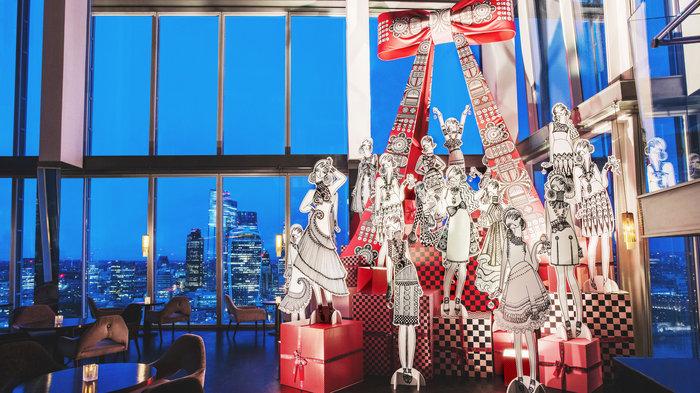 Aqua Shard x Holly Fulton - Christmas Tree