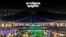 Coal Drops Yard Christmas Lights